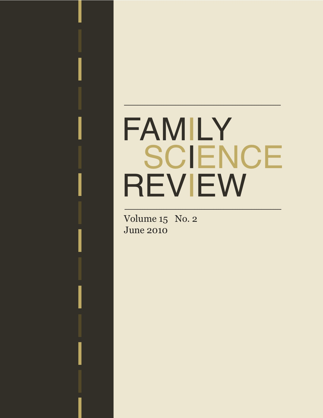 Family Science Review