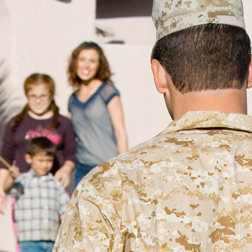 Military Family Retreats with ARC